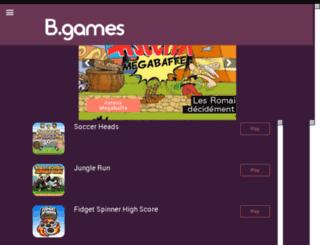 b-games.be screenshot