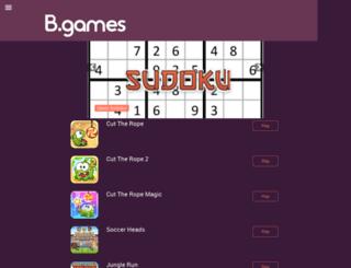 b-games.co.za screenshot