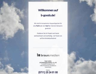 b-goods.de screenshot