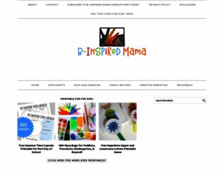 b-inspiredmama.com screenshot