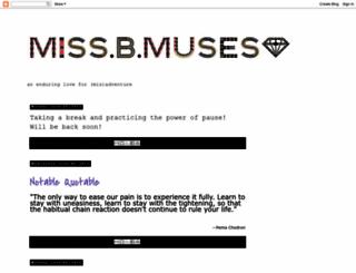 b-muses.blogspot.com screenshot