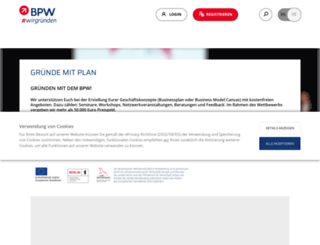 b-p-w.de screenshot