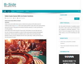 b-sidewebsites.com screenshot