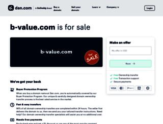 b-value.com screenshot
