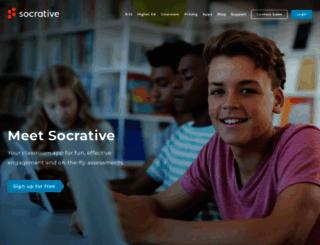 b.socrative.com screenshot