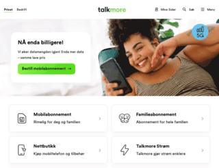 b.talkmore.no screenshot