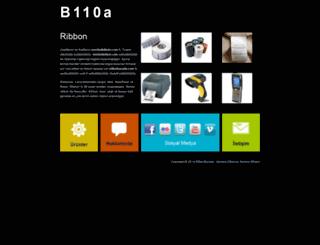 b110aribbon.com screenshot