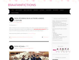 b1a4fanfictions.wordpress.com screenshot