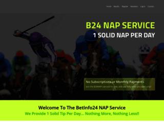 b24naps.co.uk screenshot