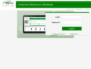 b2b.2pagency.com screenshot
