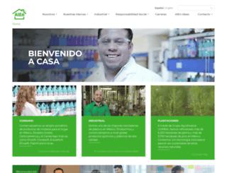 b2b.alen.com.mx screenshot
