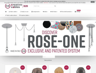 b2b.creative-cables.com screenshot