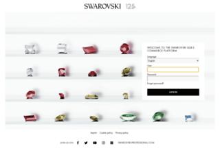 b2b.ecommerce.swarovski.com screenshot