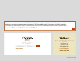b2b.fossil.nl screenshot