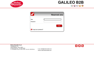 b2b.molinorossetto.com screenshot