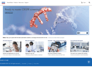 b2b.qiagen.com screenshot