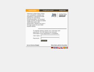 b2b.winora-group.com screenshot