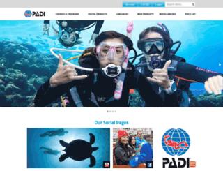 b2bap.padi.com screenshot