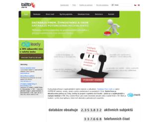 b2bdata.cz screenshot
