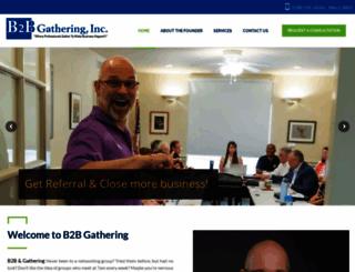 b2bgathering.com screenshot