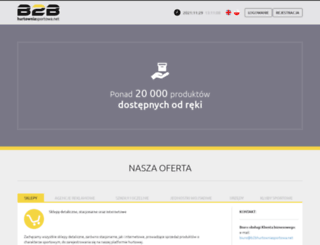b2bhurtowniasportowa.net screenshot