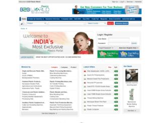 b2bplasticworld.com screenshot