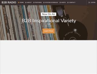 b2bradio.co.uk screenshot