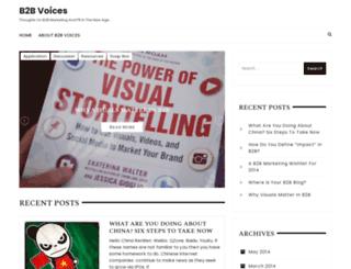 b2bvoices.com screenshot