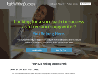 b2bwritingsuccess.com screenshot