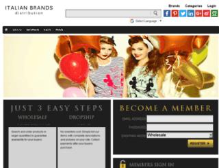 b2c.italianbrandsdistribution.com screenshot