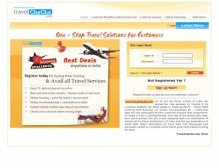 b2c.travelchacha.com screenshot