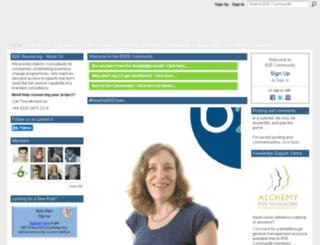 b2e-community.com screenshot