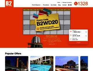 b2hotel.com screenshot