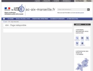 b2i.ac-aix-marseille.fr screenshot