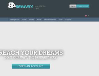 b4binary.com screenshot
