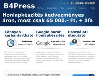 b4press.hu screenshot