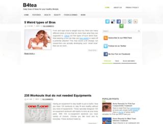 b4tea.blogspot.com screenshot