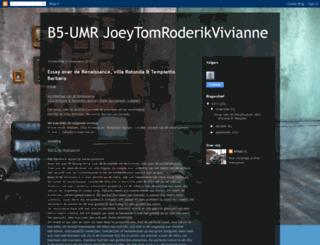b5-umr-jtrv.blogspot.nl screenshot
