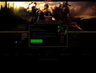 ba.world-of-dungeons.net screenshot