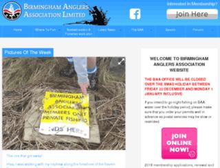 baa.uk.com screenshot