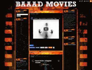 baaadmovies.blog.hu screenshot