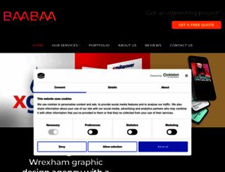 baabaadesign.co.uk screenshot