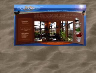 baabe-cafeklatsch.de screenshot