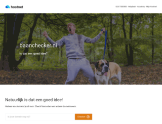 baanchecker.nl screenshot