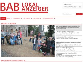 bab-lokalanzeiger.de screenshot