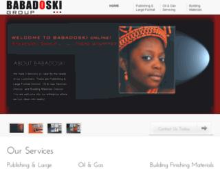 babadoski.com screenshot