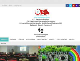 babaeskidh.gov.tr screenshot