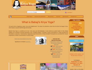 babajiskriyayoga.net screenshot