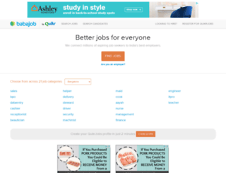 babajob.com screenshot