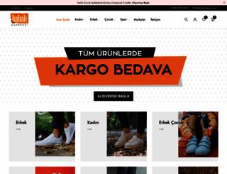 babaliayakkabi.com screenshot
